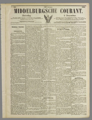 Middelburgsche Courant 1905-12-02