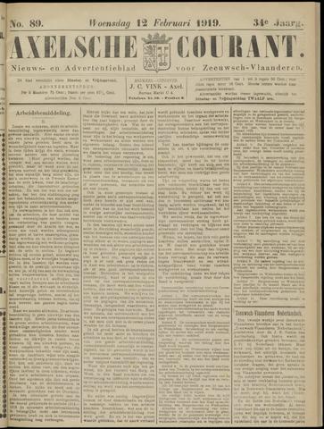 Axelsche Courant 1919-02-12