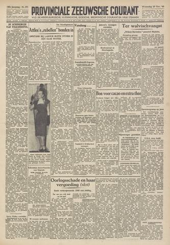 Provinciale Zeeuwse Courant 1946-11-20