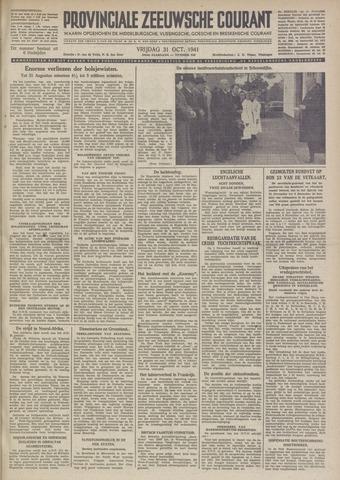 Provinciale Zeeuwse Courant 1941-10-31