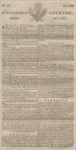 Middelburgsche Courant 1768-05-17