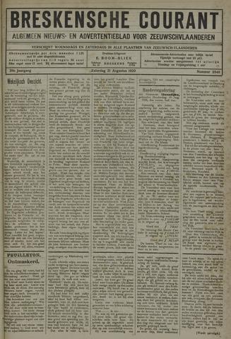 Breskensche Courant 1920-08-21