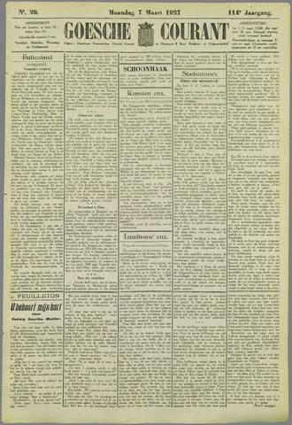 Goessche Courant 1927-03-07
