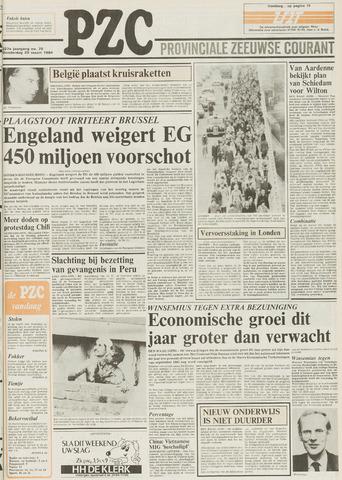 Provinciale Zeeuwse Courant 1984-03-29