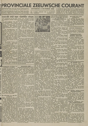 Provinciale Zeeuwse Courant 1943-10-02