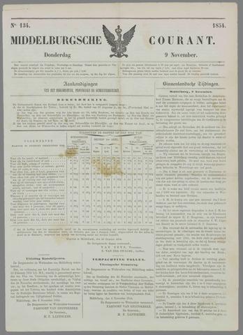 Middelburgsche Courant 1854-11-09