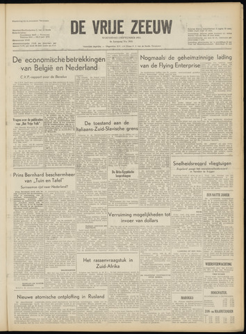 de Vrije Zeeuw 1953-09-02