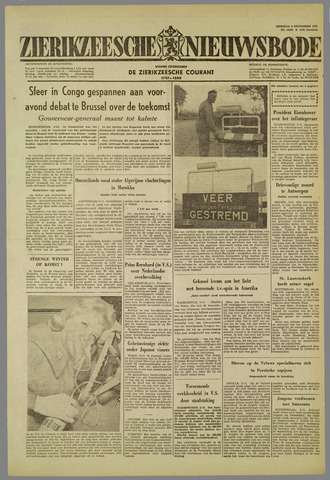 Zierikzeesche Nieuwsbode 1959-11-03