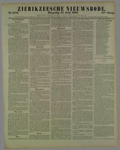 Zierikzeesche Nieuwsbode 1888-07-24