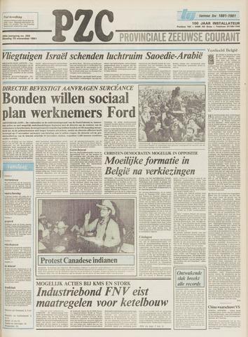 Provinciale Zeeuwse Courant 1981-11-10
