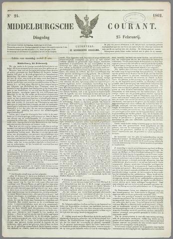 Middelburgsche Courant 1862-02-25