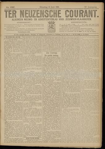 Ter Neuzensche Courant. Algemeen Nieuws- en Advertentieblad voor Zeeuwsch-Vlaanderen / Neuzensche Courant ... (idem) / (Algemeen) nieuws en advertentieblad voor Zeeuwsch-Vlaanderen 1916-06-06
