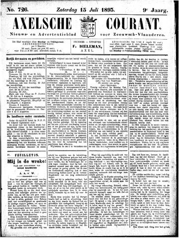 Axelsche Courant 1893-07-15