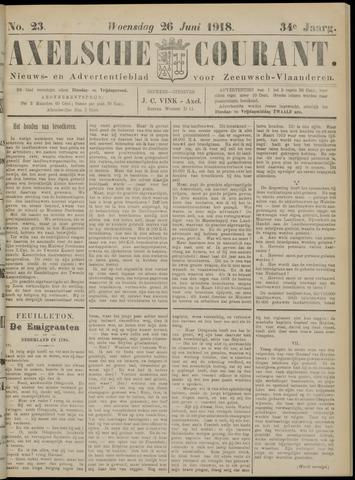 Axelsche Courant 1918-06-26