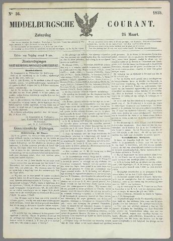 Middelburgsche Courant 1855-03-24