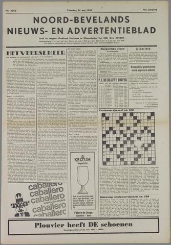 Noord-Bevelands Nieuws- en advertentieblad 1969-05-24