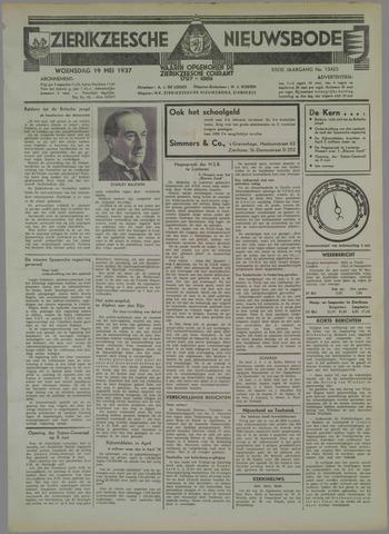 Zierikzeesche Nieuwsbode 1937-05-19