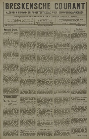 Breskensche Courant 1924-01-05