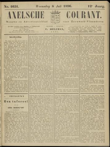 Axelsche Courant 1896-07-08
