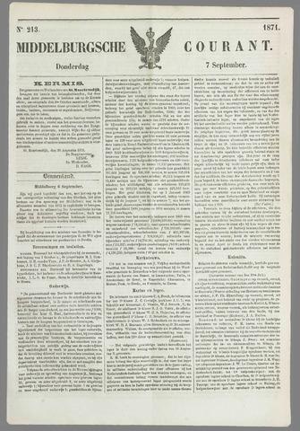 Middelburgsche Courant 1871-09-07