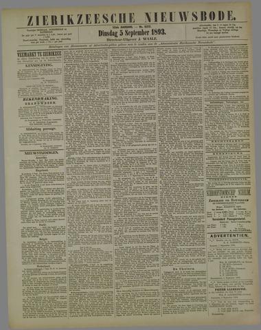 Zierikzeesche Nieuwsbode 1893-09-05