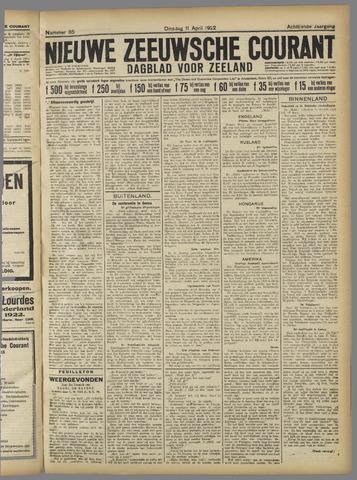 Nieuwe Zeeuwsche Courant 1922-04-11
