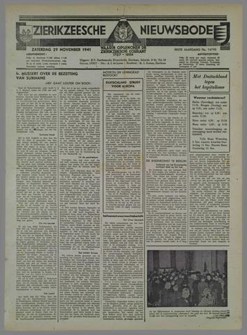 Zierikzeesche Nieuwsbode 1941-10-31
