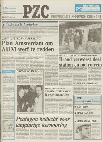 Provinciale Zeeuwse Courant 1983-01-17