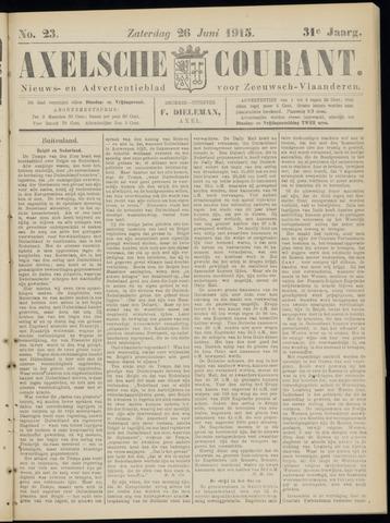 Axelsche Courant 1915-06-26