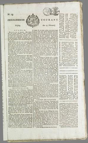 Zierikzeesche Courant 1824-02-13
