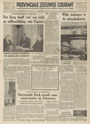 Provinciale Zeeuwse Courant 1960-11-26