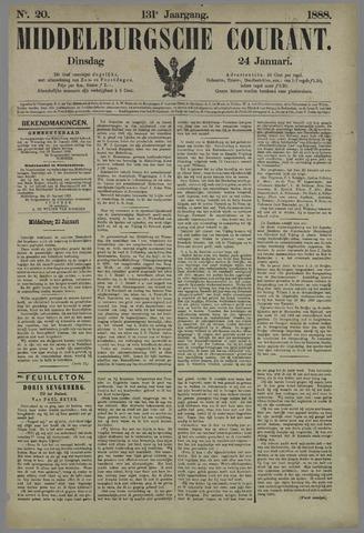 Middelburgsche Courant 1888-01-24