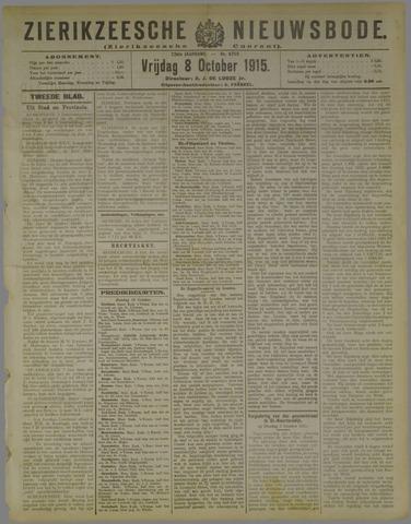Zierikzeesche Nieuwsbode 1915-10-08