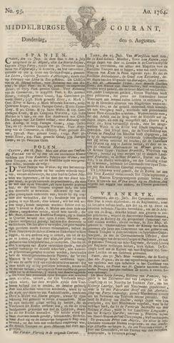 Middelburgsche Courant 1764-08-09