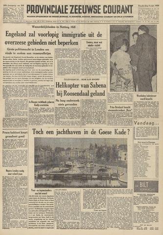 Provinciale Zeeuwse Courant 1958-09-04
