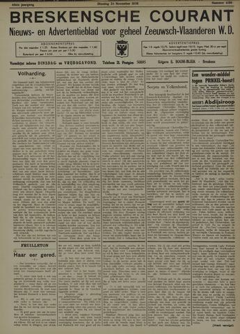 Breskensche Courant 1936-11-24