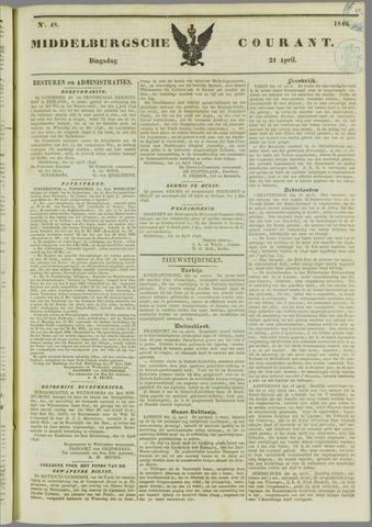 Middelburgsche Courant 1846-04-21