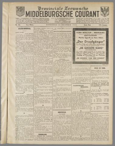 Middelburgsche Courant 1932-12-22