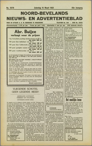 Noord-Bevelands Nieuws- en advertentieblad 1952-03-15