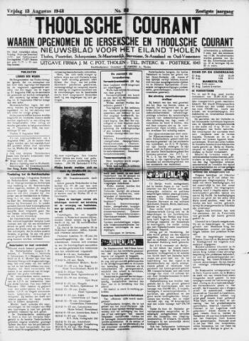 Ierseksche en Thoolsche Courant 1943-08-13