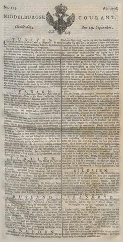 Middelburgsche Courant 1776-09-19