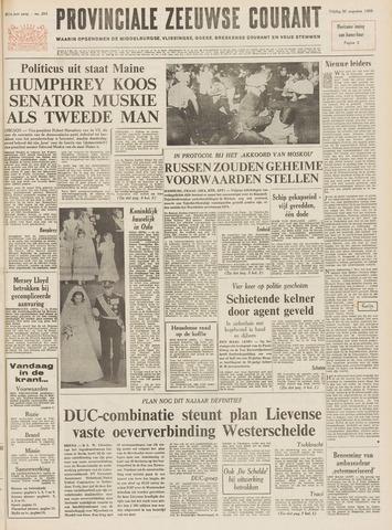 Provinciale Zeeuwse Courant 1968-08-30