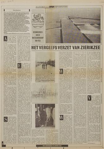 Watersnood documentatie 1953 - kranten 1983-01-22