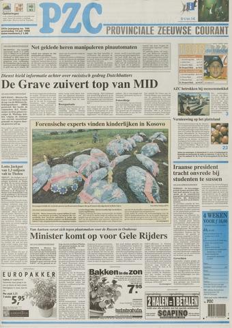 Provinciale Zeeuwse Courant 1999-07-14