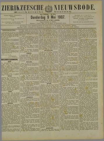 Zierikzeesche Nieuwsbode 1907-05-09