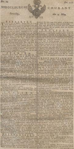 Middelburgsche Courant 1776-05-04