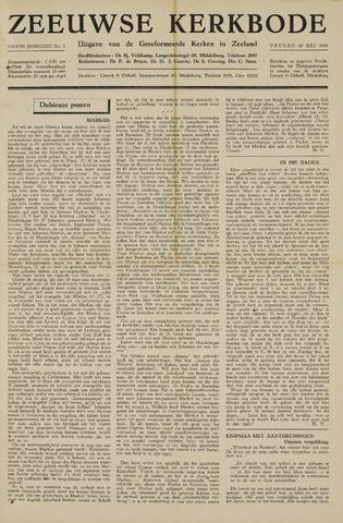 Zeeuwsche kerkbode, weekblad gewijd aan de belangen der gereformeerde kerken/ Zeeuwsch kerkblad 1948-07-30
