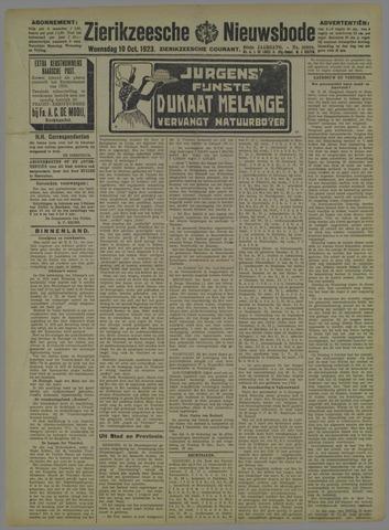Zierikzeesche Nieuwsbode 1923-10-10