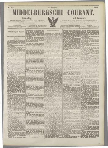 Middelburgsche Courant 1899-01-24