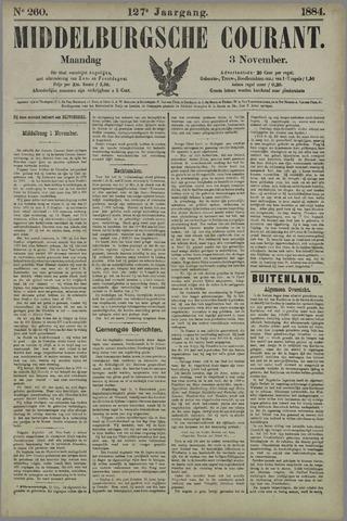 Middelburgsche Courant 1884-11-03